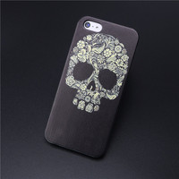2017 New Sugar Painted Skull Case for Apple iPhone5 5s 5g