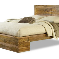 Big Bear Rosewood Panel Bed