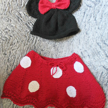 Minnie Mouse Outfit - Character Inspired