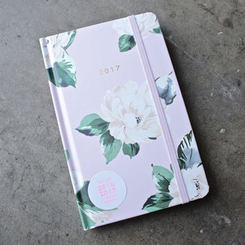 ban.do 17  month classic agenda - lady of leisure, floral planner