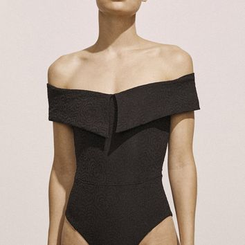 Jacqueline Maillot in Black