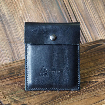 Leather Pouch #Black