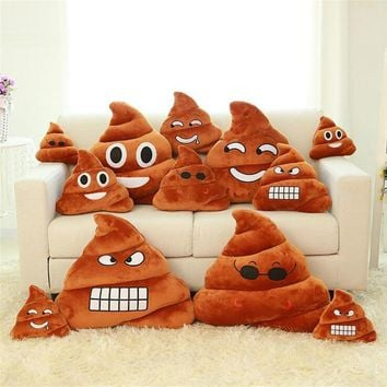 Poop Emoji Pillow/Cushion