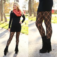 Layer of Lace Leggings