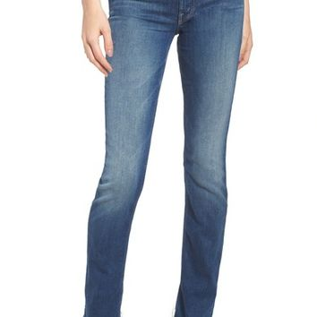 MOTHER The Rascal Released Hem Straight Leg Jeans (Goin for Gold) | Nordstrom