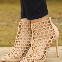 Sweet Escape Heels: Nude - What's New