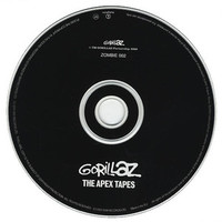 Gorillaz The Apex Tapes UK Promo CD album (CDLP) (184132)