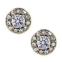 Betsey Johnson Iconic Crystal Stud Earrings | Dillards.com
