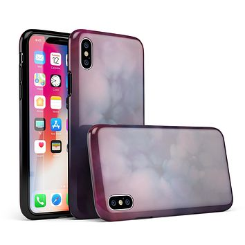 Abstract Fire & Ice V4 - iPhone X Swappable Hybrid Case