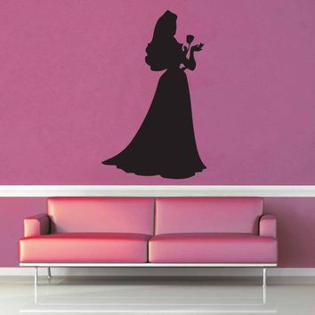 Aurora Silhouette - Wall Decal - No 4$8.95