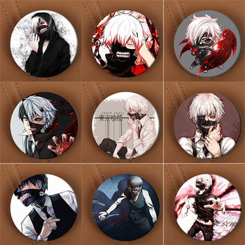 Youpop Tokyo Ghoul Anime Brooch Pins Badge Accessories For Clothes Hat Backpack Decoration Men and Women Boy Girl HZ1341