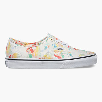 Vans Disney Ariel Authentic Womens Shoes Multi  In Sizes