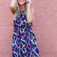 Floral Confetti Dress