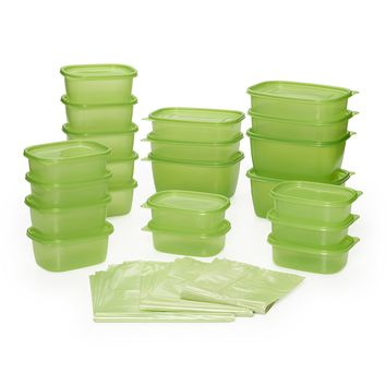 Debbie Meyer Greenbox Greenbag Set (74 Piece, Green)