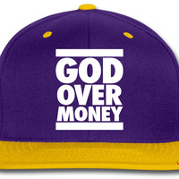 GodMoney_black snapback