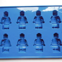 Lego man minifigure silicone jelly chocolate ice mold tray