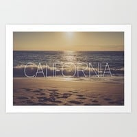 California Art Print by All Is One