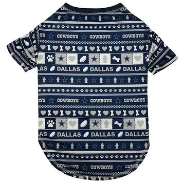 Dallas Cowboys Pet Novel-Tee