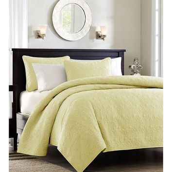 Monterey Yellow Quilt Set