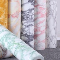 61cm x 5meters ,Modern Look Marble Effect Contact Paper Film,Pre-adhesive Wallpaper Vinyl Self Adhesive Peel-stick Counter Top.