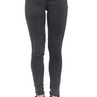 HIGH RISE MOTO JEGGING - PROMO 60% OFF