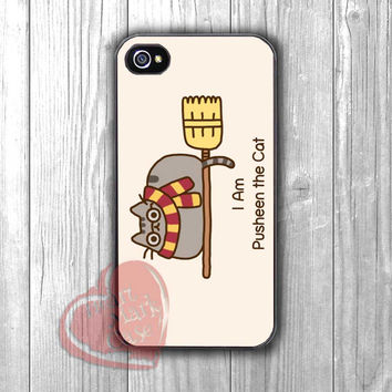 Cat as Harry Potter -tri for iPhone 4/4S/5/5S/5C/6/ 6+,samsung S3/S4/S5,samsung note 3/4