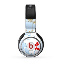 The Happy Winter Cartoon Cat Skin for the Beats by Dre Pro Headphones