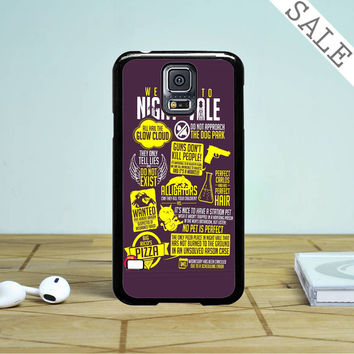 Welcome To Night Vale Samsung Galaxy S5 Case