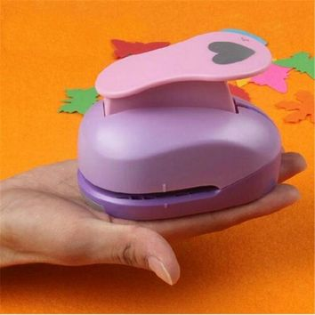 4.6cm DIY Paper Printing Card Cutter Scrapbook Shaper extra large Embossing device Hole Punch Kids Handmade Craft gift Stamping