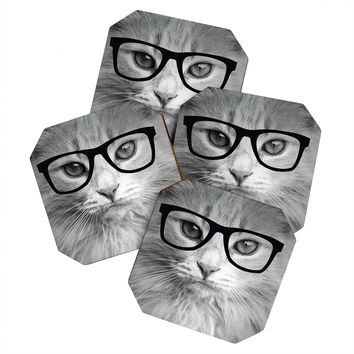 Allyson Johnson Hippest Cat Coaster Set