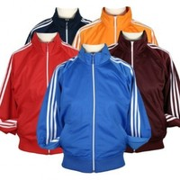 Adidas Womens Full Zip Lightweight Track Jacket