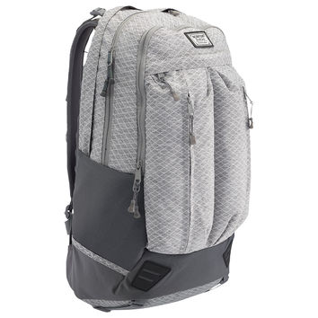 Burton: Bravo Backpack - Grey Heather Diamond Ripstop
