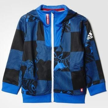 adidas Marvel Spider-Man Hoodie - Blue | adidas US