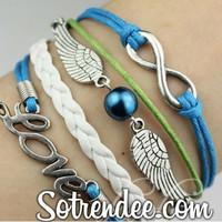 Blue Pearl Wing Set