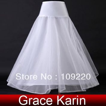 Free Shipping GK A-line Wedding Bridal Gown Dress Petticoat Underskirt Crinoline CL2708