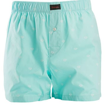 The Brilliant Boxers in Diamond Blue