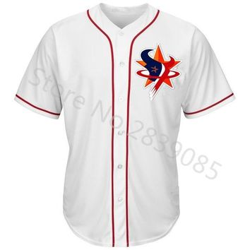 New Designs Summer Houston Jersey Shirt, Stitched Custom Texans/Astros/Rockets Team Any Player Name And Number Jerseys