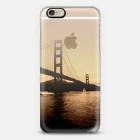 Golden Gate Sepia iPhone 6 case by Tracey Coon | Casetify