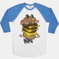 Triple Decker Burger Dude