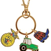 Tractor-Boot-Emblem Keychain