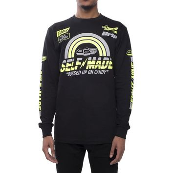 Self Made Volt Long Sleeve Racing Tee