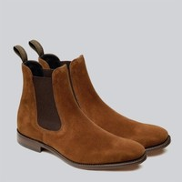 Loake - Mitchum Suede Chelsea Boots   CLOTHING   nigelclare.com