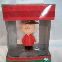 eBlueJay: CHARLIE BROWN 3D FIGURAL HOLIDAY ORNAMENT NIP