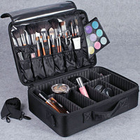 Hotrose Professional Makeup Suitcase for Cosmetics