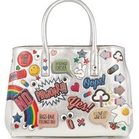 All Over Stickers Ebury small leather tote | Anya Hindmarch | MATCHESFASHION.COM US