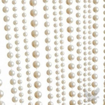 Hanging Pearl Curtain Pearl Backdrop Pearl Wedding Decor Hanging Pearls Great Gatsby Wedding Downton Abbey Wedding Pearl Curtains
