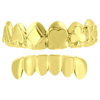 Ace Design Grillz Top Bottom Set Yellow Finish