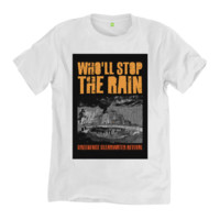 Who'll Stop The Rain | BlackLineWhite Art Clothing