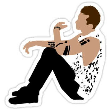 Tyler Joseph Sticker by TOP-Devotee