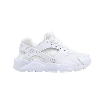 Nike Huarache Run BIg Kid's GS White Pure Platinum